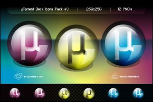 uTorrent Dock Icons Pack 3 by lilshizzy