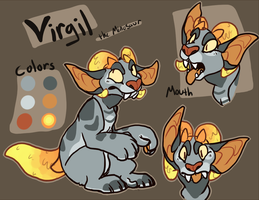 Minosaur Virgil by GollyArt