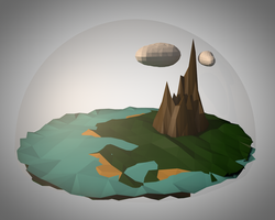 Little planet by Th3AlleyCat
