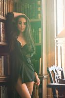 library by creativephotoworks