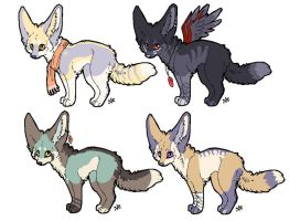 Fennec adoptables auction by Velyra