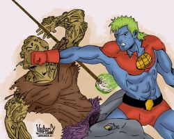 CaptainPlanet VS ToxicAvenger by ZeroEnd