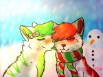 Peppermint Kisses by StarbucksFox