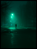 Fog Walk by JohnKyo