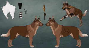 Lovise ref by Norse-Winds
