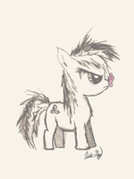 MLP OC Filly by CrutonArt