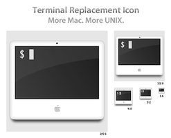 Terminal Replacement Icon by fphilipe