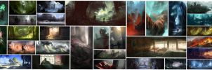 30 Minute Speed-Paintings by jordangrimmer