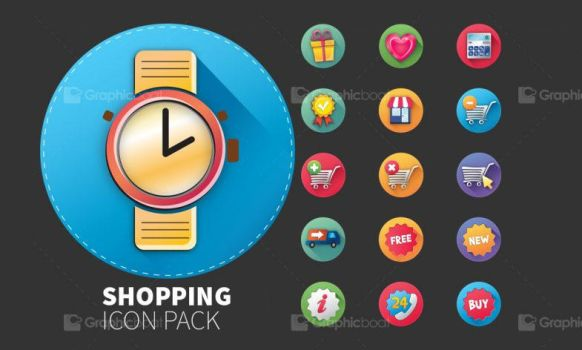 E-Commerce Icon Set 30 icons by calwincalwin