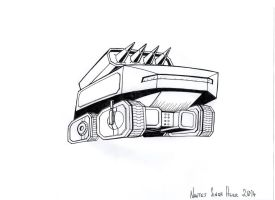 Missile Tank by hellbat