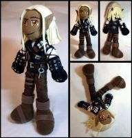 Witcher Zevran Plush--DAO by Threnodi