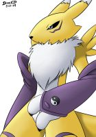 Renamon 5-27-09 by DamnEvilDog