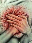 Pain is Life - Close up by Bonniemarie