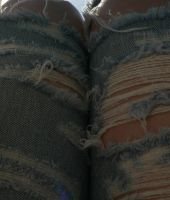 Ripped Jeans Texture 6 by Gracies-Stock