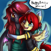 HAPPY BIRTHDAY ZANON by BlueKazenate