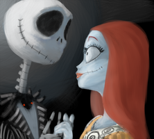 jack and sally by tadikarawo