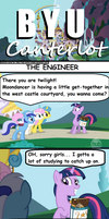 BYU Canterlot: Engineering Degree by Eagle1Division