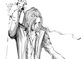Aoi- Happy Bday unfinished by Alzheimer13