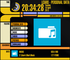 LCARS for Rainmeter v2.2 by Freaky333