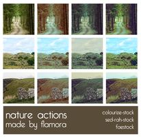 Photoshop Actions Set Five. by flamora