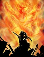 Reborn from the Fire, and Rises a Legend by InYuJi