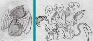 Two more sketches XD by sami86404