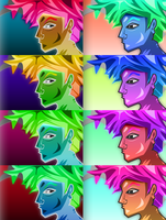 Bright Colors by 3uhox