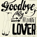 XLIV. Goodbye, my almost lover by noMirar