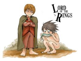 DN: Lord of the Rings by tensergorn
