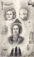 8th Doctor and Co by capconsul