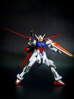Aile Strike Gundam Figure 2 by covenan