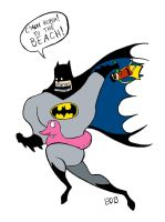 C'mon Robin! To the BEACH! by EO88