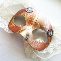 Lace Steampunk Mask by NBetween