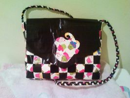 Duct Tape Cupcake Purse by UnderCoverCottonswab