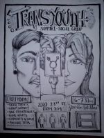 Transyouth Flyer design by InkByInk