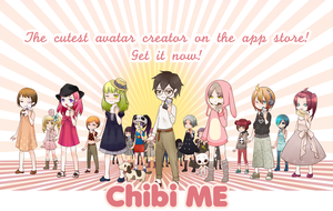 Chibi Me Dress Up Game Advertisement by tiwummbihaou