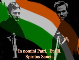 Boondock Saints Background WIP by maskedfire