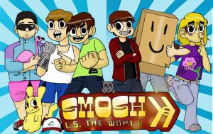 Smosh vs. the World by 11kara11