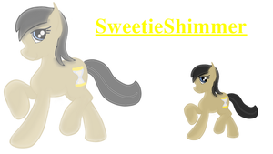 mlp  SweetieShimmer by swiffer-the-alicorn