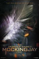 Mockingjay Fan-made Poster by TributeDesign