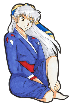 InuYasha - Adult Kichite by Sasza-Ola
