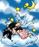 sleeping sweet angel by cari