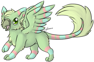 Easter Gryphon Adopt - Closed by Saldemonium