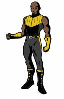 Luke Cage redesign by JMCTLH