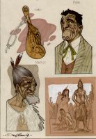 Pakeha-Sketches2-year2003 by DenisM79