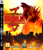 Fan Made - Godzilla The Video Game PS3 Cover by KingAsylus91