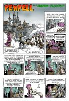 Pewfell: Vol 4 Book 2 Page 1 by chuckwheel