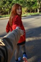 Amy Pond - 'Come Along, Doctor!' by TakaMoony