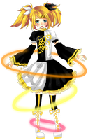 Rin Kagamine (Hard R.K. mix) by ChubbyPandachu