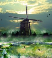 The Windmill by Joseph-Pereira